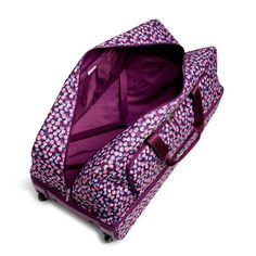 Image of Large Wheeled Duffel Bag in Berry Burst