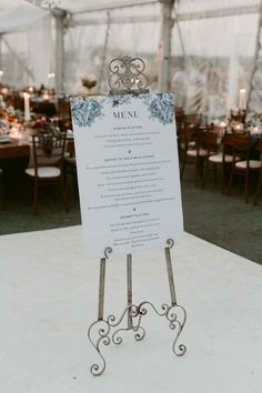 Who says you can't have a giant wedding menu? How gorgeous is this large format print design for this lucky bridal couple? Stylish and chic, large format prints will bring the heat to your beautiful celebration! Nex York, Wedding Stationery, Wedding Invitations, Wedding Menu, Save The Date Cards, Buffet, Print Design, How To Memorize Things, Place Card Holders