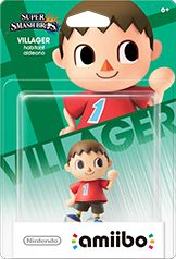 Villager amiibo Box Art