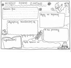 Zimowe ferie Teachers Corner, Toddler Activities, Bullet Journal, Mindfulness, Study, Teaching, Education, School, Books