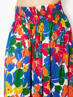 Fancy Floral Cotton Skirt by French Connection on sale now on Gilt.