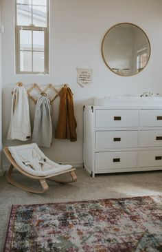 Bohemian Nursery Reveal - Living in Color