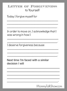 Self Forgiveness Worksheet - Printable Write A Letter Of Forgiveness To Yourself Therapy Pin On Me Fillable Online The Radical Self Forgiveness Worksheet Sounds Forgiveness Worksh. Group Therapy Activities, Therapy Worksheets, Counseling Activities, School Counseling, Counseling Worksheets, Grief Counseling, Physical Activities, Coping Skills, Social Skills