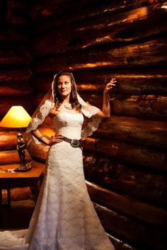 lose the veil cut the front up to show your boots Calgary Stampede Inspired Western Wedding Log Cabin Wedding, October Wedding, Our Wedding, Wedding Ideas, Tie The Knots, Dream Wedding Dresses, Big Day, Veil, Bridal Shower