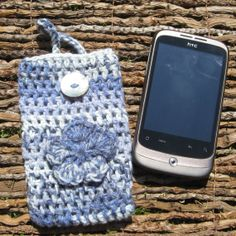 ♥ by PollyKrafts, Cell Phone Covers, Mobile Phone Cases, Crochet Phone Cover, Crochet Eyes, Beautiful Crochet, Unique Jewelry, Glass, Handmade Gifts, Crafts