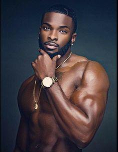 real good looking black man Black Man, Fine Black Men, Gorgeous Black Men, Hot Black Guys, Handsome Black Men, Black Boys, Fine Men, Beautiful Men, Handsome Man