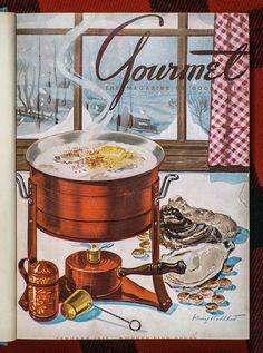 Gourmet Magazine, January 1945