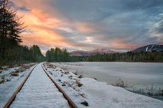 Sunset over North Conway. Photo credit: Darylann Leonard