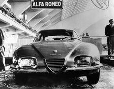 Alfa Romeo 2600 Sprint Zagato Prototipo 1962 Salone dell'Automobile di Torino