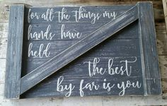 Check out this item in my Etsy shop https://www.etsy.com/listing/482481131/barn-door-reclaimed-wood-sign-cecilia