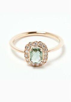 Unique colored engagement rings #romantic #indyfacets #wedding