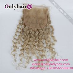 #613color lace closure_kinky curl Pls order link: vickie@onlyladyhair.com Whatsapp:8618565598638 #laceclosure #kinky #deepwave #curly #hair #Style #Stylish #hairsalon #longhair #bundles #Virginhair #naturalbeauty #onlyhair #hairweave