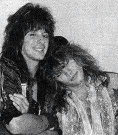 richie sambora and jon bon jovi, 1980s