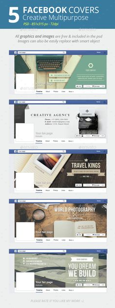Creative Facebook Cover