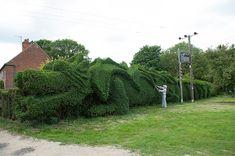Hay trabajos de jardinería que realmente nos dejan con la boca abierta...