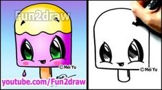 Download video: How to Draw Easy Cartoons - Nail Polish Tutorial ...
