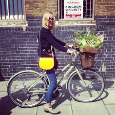 Alex Stedman borrows a bike from her sister and is inspired to think about vintage tea-dresses and looks at some stylish bike options. The Frugality, Vintage Tea Dress, Affordable Fashion, Photoshoot, Bike, Street Style, Style Inspiration, Stylish, Clothes