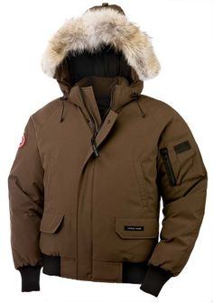 Discount Canada Goose Yorkville Parka Brown Mens