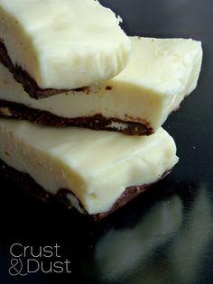 Sernikowo-czekoladowe batoniki