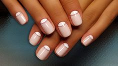 Image result for half moon manicure