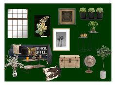 """""""warm and cozy"""" by anne-lise-knoph on Polyvore featuring interior, interiors, interior design, home, home decor, interior decorating, NDI, H&M and beautifulhalo"""