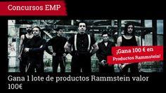 **CONCURSOS EMP** EMP te invitan a participar en el concurso Rammstein. Donde se podrás ganar 1 LOTE DE PRODUCTOS Rammstein valorado en 100€ > http://emp.me/B8b fecha de cierre : 30.10.2015 #EMPSpain #ConcursosEMP #Rammstein  EMP Online España • Tienda Rock •Heavy • Metal • Gótica y Alternativa