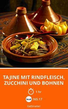 Tajine mit Rindfleisch, Zucchini und Bohnen - smarter - Zeit: 1 Std. | eatsmarter.de