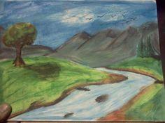 Oil pastel1