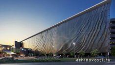 Кинетический фасад от Нэда Кана (Ned Kahn). Брисбен, Австралия.