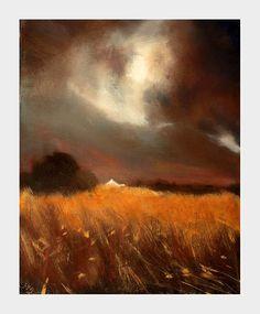 The Golden Field (Print) - John O'Grady Art