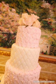 Cherry Blossom Wedding Cake Turning Stone Resort and Casino