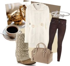 """Love, Biscotti and Coffee"" by angiebailey13 on Polyvore"