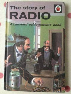 Listen to old time radio shows for free. Hear some of the greatest shows ever produced for radio and some recordings of major historical events. Lps, Radios, Spot Books, Old Technology, Old Time Radio, Ladybird Books, Radio Wave, Antique Radio, Classic Series