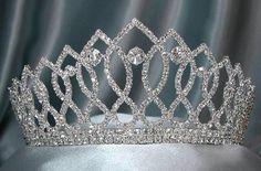 Rhinestone Bridal Queen Princess Miss Beauty Queen Crown Tiara
