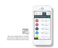 Personal Budget App by sinan ozdemir, via Behance
