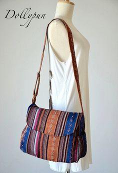 fe6a45b748 Hippie Messenger Bag Handbags Nepali Woven Bag Crossbody Bag Camera Bag  Boho Bag Cotton Shoulder Bag Tribal Purse Ethnic Bag