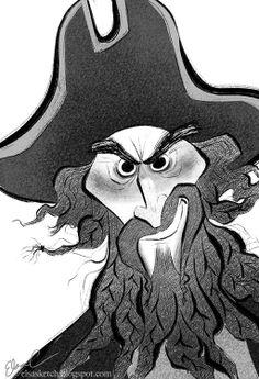 Blackbeard by Elsa Chang