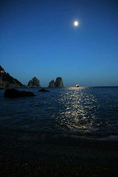 Isola magica Isle Of Capri, Capri Italy, Amalfi Coast, Celestial, Sunset, Places, Rocks, Photographs, Outdoor