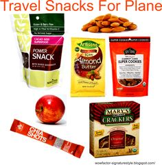 Healthy Travel Snacks  wowfactor-signaturestyle.blogspot.com/