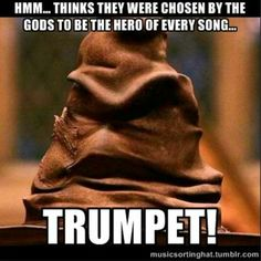 Instrument sorting hat