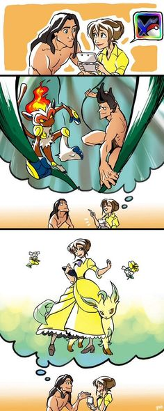 Tarzan With Pokémon