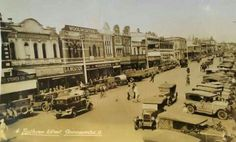 Ruthven St,Toowoomba in Queensland in the 🌹 Old Photos, 1930s, Paris Skyline, Australia, History, Travel, Old Pictures, Historia, Viajes