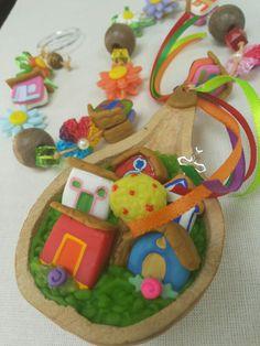 Móbile decorativo vila mineira.Decore seu ambiente preferido com Atelier Petite Julie.
