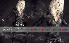 FEBRERO/FEBRUARY: Angela Gossow (Arch Enemy)