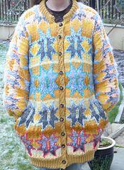 Ravelry: Outlined Star Jacket pattern by Kaffe Fassett