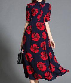 Laure Floral Dress