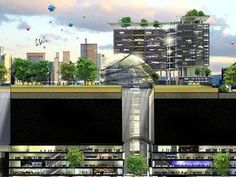 Singapore's Underground Science Centre will be linked via a cave system. Picture: JTC Cor