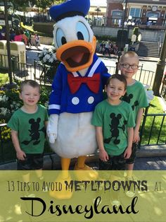 13 Tips to Avoid Meltdowns at Disneyland