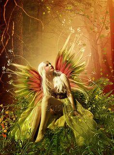 Fairy by Euselia on DeviantArt