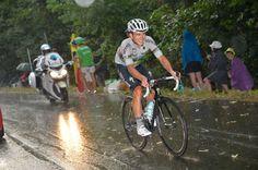 Michal Kwiatkowski. Stage 12. Lannemezan to Plateau de Beille.